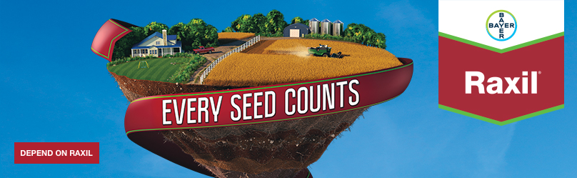 Raxil - Every Seed Counts - Depend On Raxil