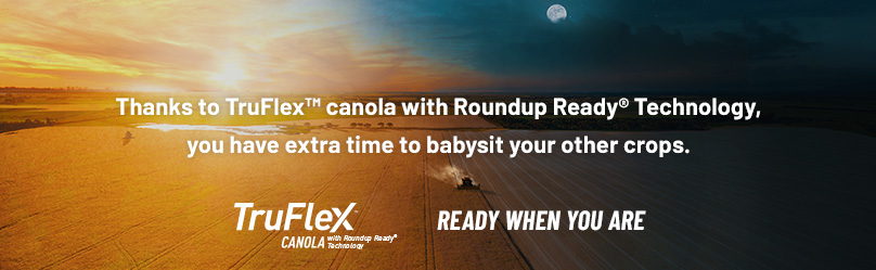 TruFlex Canola, ready when you are