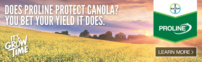 Does Proline protect Canola? You bet your field it does. | Proline