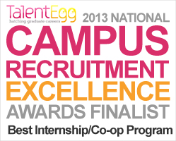 best internship coop program finalist