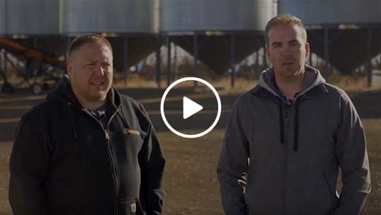 Still from farmer testimonial video
