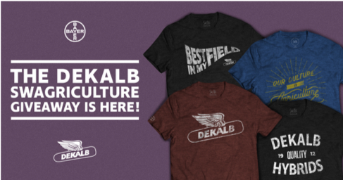 The DEKALB Swagriculture giveaway is here!