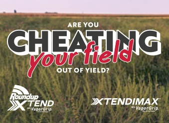 Are you cheating your field out of yield? Roundup Xtend and XtendiMax.