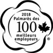 Canada's Top 100 Employers 2018 logo