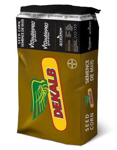 Image of a DEKALB VT Double PRO RIB Complete Corn Brown Bag