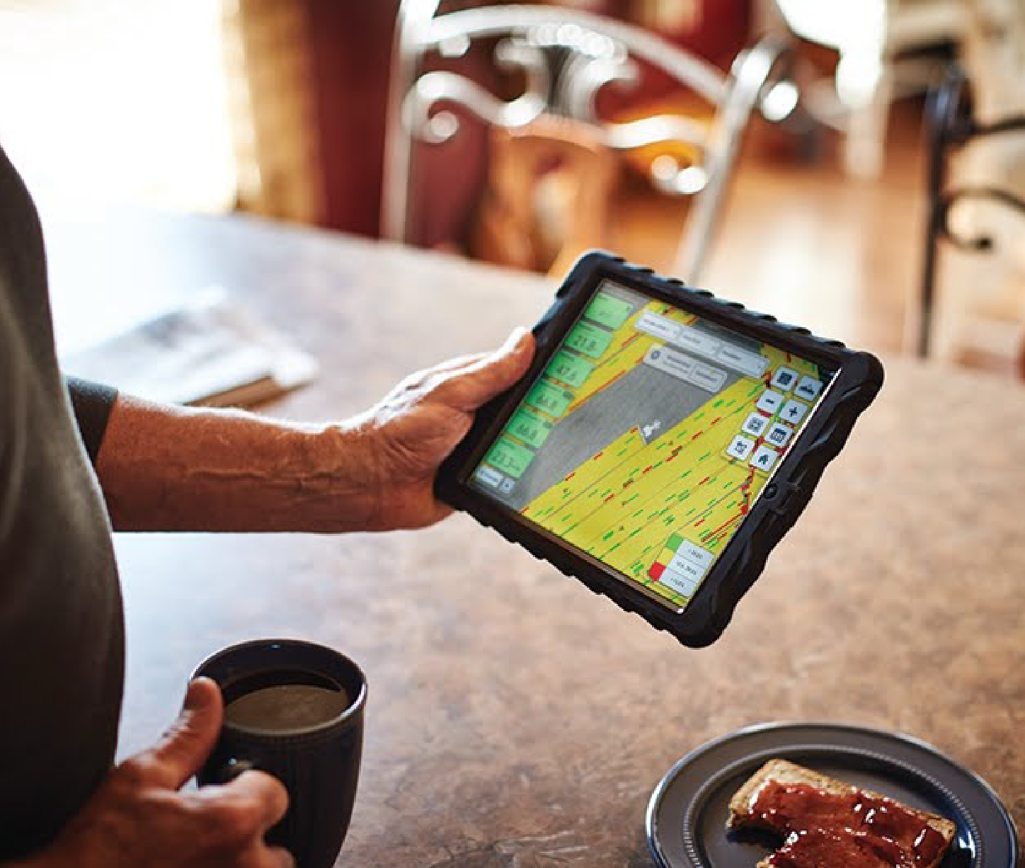 Climate FieldView Tablet