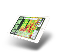 Climate FieldView logo and iPad