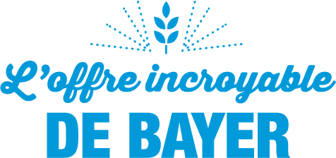 Logo Offre incroyable Bayer