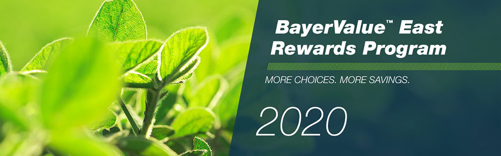 BayerValue East Rewards Program 2020