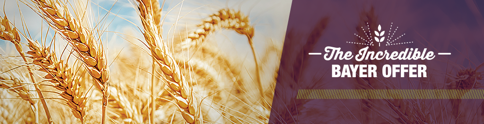 The Incredible Bayer Offer offers growers savings on their crop protection purchases.