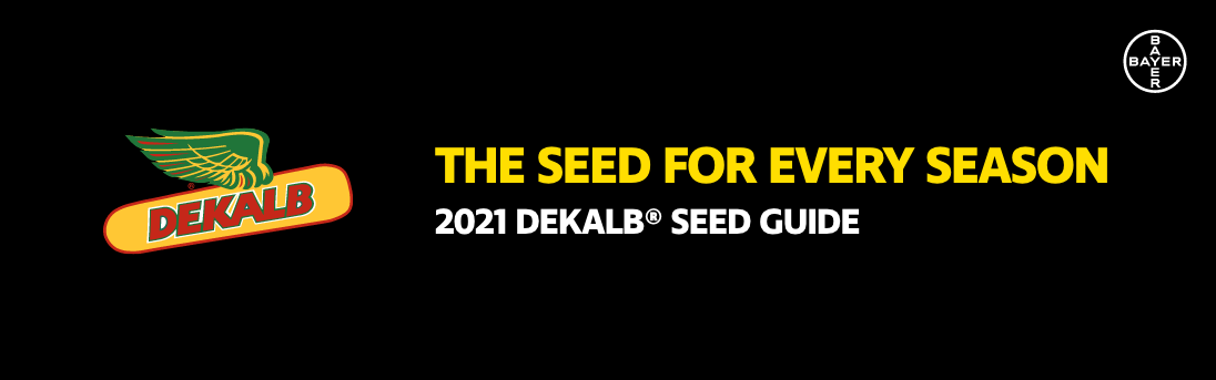 DEKALB Seed Guide 2021 for Western Canada header image