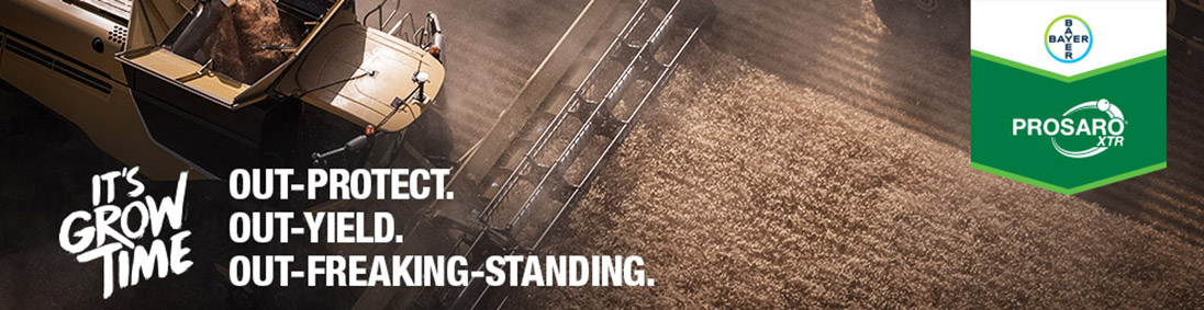 Out-Yield. Out-Protect. Out-Freaking-Standing | Prosaro XTR