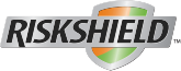 Logo de la garantie de protection Riskshield