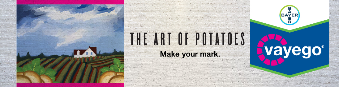 Make your mark. THE ART OF POTATOES | vayego