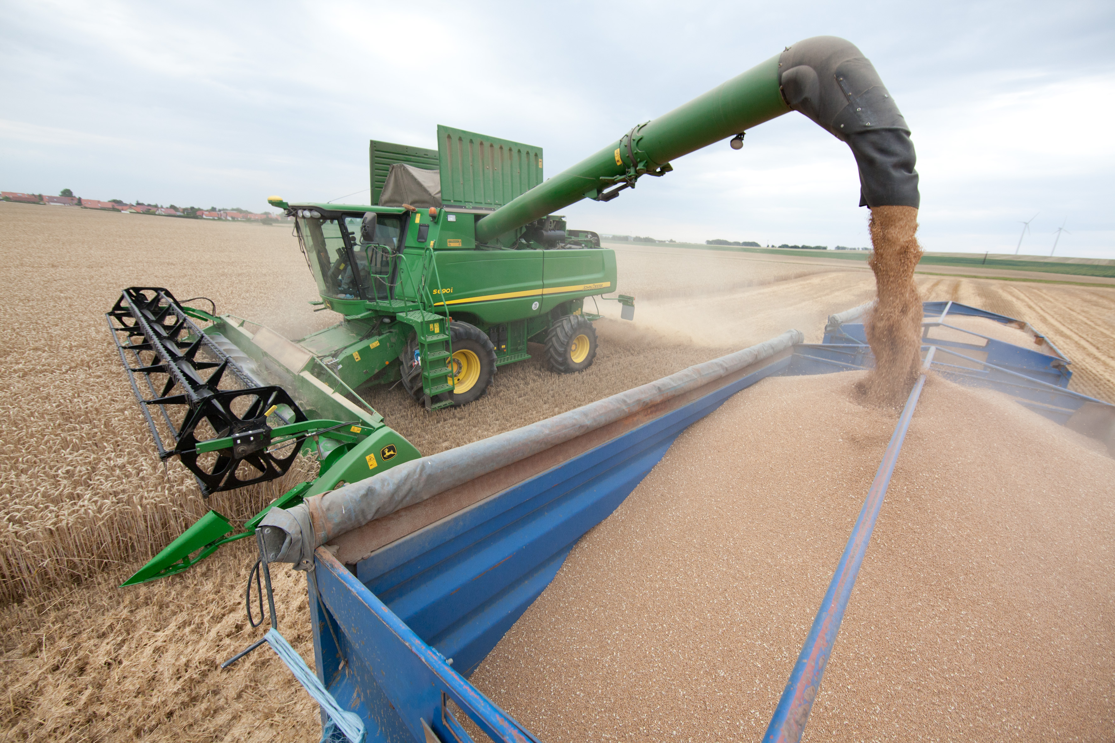 Create a safety plan during harvest