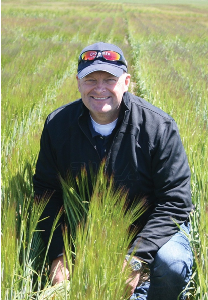 Agri-Food Canada research scientist Kelly Turkington
