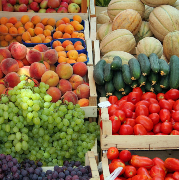 Plan healthy food choices, including fruits and vegetables