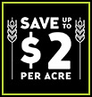 Save up to $2 per acre when you tank mix Luxxur and Trophy herbicides