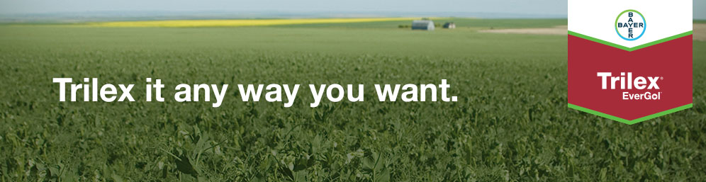 Trilex it any way you want it. The fully customizable seed treatment for pulses
