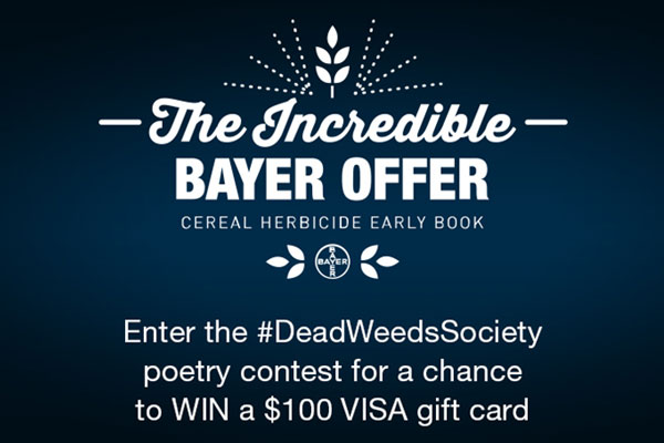 Dead Weeds Society Poetry Contest